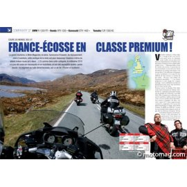 Essai GT : BMW R 1200 RT - Honda VFR 1200 - Kawasaki GTR 1400 - Yamaha FJR 1300 AS (2010)