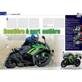 Essai Kawasaki Z 1000 SX : Routière à part entière (2011)