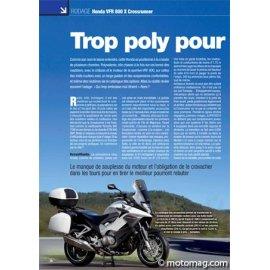 Essai Honda VFR 800 X Crossrunner : Poly ou honnête ? (2011)