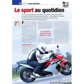 Essai Honda CBR 600 F : Le sport au quotidien (2011)
