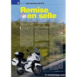 Essai MOTO GUZZI Norge 1200 GT 8V : Remise en selle (2011)
