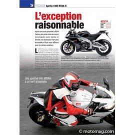 Essai APRILIA 1000 RSV4-R : L'exception raisonnable (2010)