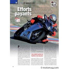 Essai MV AGUSTA F4 1000 : Efforts payants (2010)
