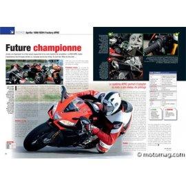 Essai Aprilia 1000 RSV4 Factory APRC : Future championne (2011)