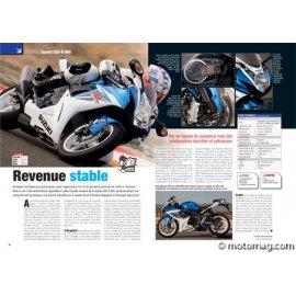 Essai Suzuki GSX-R 600 : Revenue stable (2011)