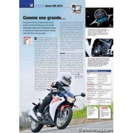 Essai Honda CBR 250 R (2011) : Comme une grande…
