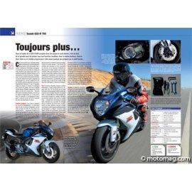 Essai Suzuki GSX-R 750 (2011) : Toujours plus…