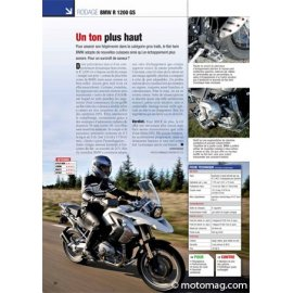 Essai BMW R 1200 GS : Un ton plus haut (2010)