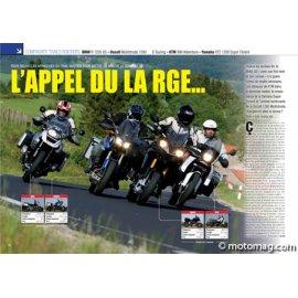 Essai BMW 1200 GS, Ducati Multistrada 1200 S, KTM 990 Adv, Yam XTZ 1200 Super T (2010)