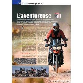 Essai Triumph Tiger 800 XC : L'aventureuse (2011)