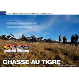 Essai BMW F 800 GS - Honda 700 Transalp - Triumph Tiger 800 XC - Yamaha 660 Ténéré (2011)