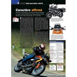 Essai MOTO GUZZI Stelvio 1200 8V : Caractère affirmé (2011)