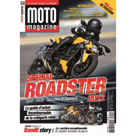 Moto Mag spécial : Roadster 2012