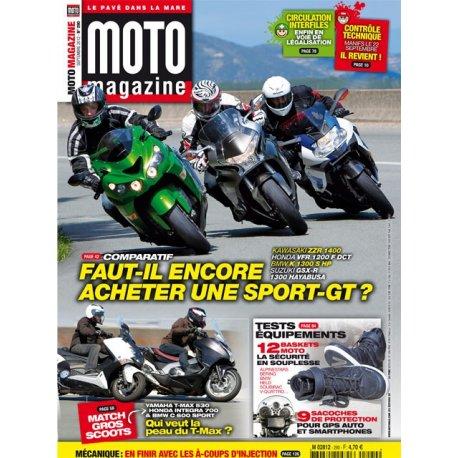 Moto Magazine n° 290 - Septembre 2012
