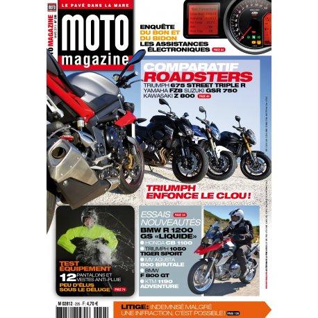 Moto Magazine n° 295 – Mars 2013