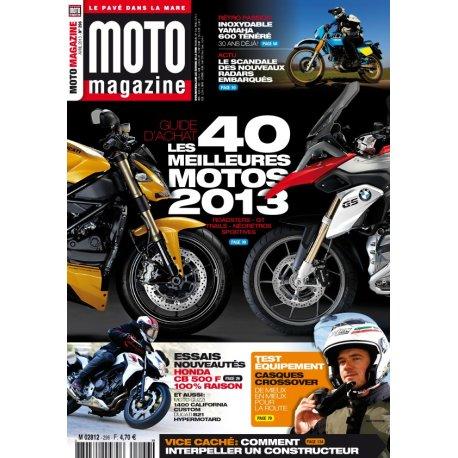 Moto Magazine n° 296 – Avril 2013
