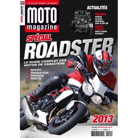 Moto Mag spécial : Roadster 2013