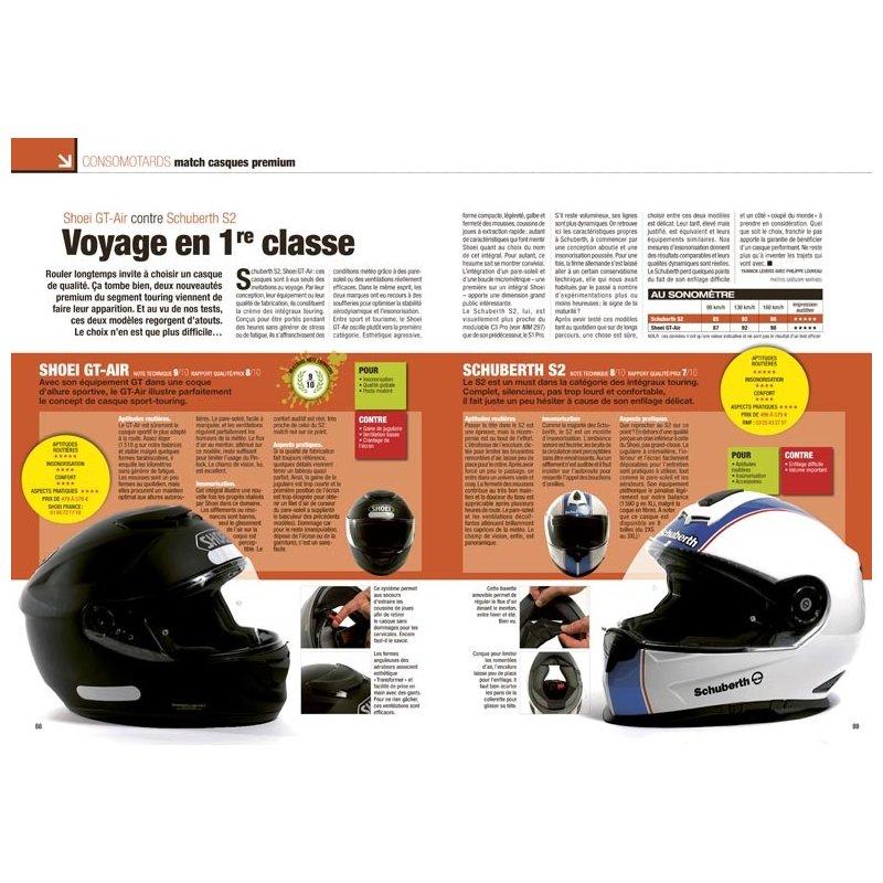 le test des casques int graux premium shoei gt air. Black Bedroom Furniture Sets. Home Design Ideas