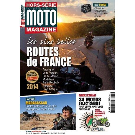 Moto Magazine : Hors-série Balades 2014 - Les plus belles routes de France