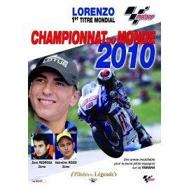 DVD moto n° 25 - MotoGP : Championnat du monde 2010 - Lorenzo 1er titre mondial