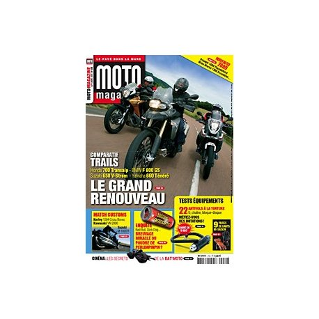 Moto Magazine n°250 - Septembre 2008 - En kiosque à partir du 28/08/2008