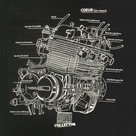 Tee-shirt HONDA CB 750 Noir Moto Magazine