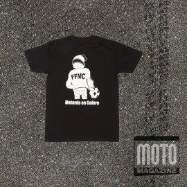 T-shirt moto FFMC Motard boxeur NOIR
