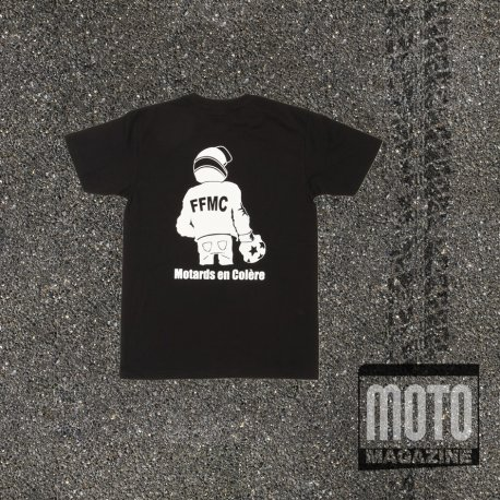 T-shirt boxeur FFMC NOIR