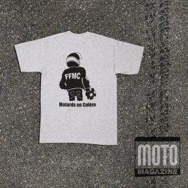 T-shirt boxeur FFMC GRIS