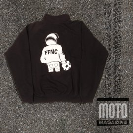 Sweat-shirt moto FFMC col Camionneur Kariban
