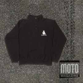 Sweat-shirt moto FFMC col Camionneur Fruit of the Loom