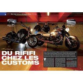 Essai Moto Guzzi California 1400 Custom contre Victory 1700 Judge (2013)