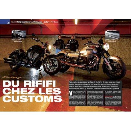 DU RIFIFI CHEZ LES CUSTOMS (2013) : Moto Guzzi - Victory