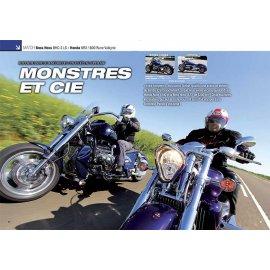 Essai Boss Hoss BHC-3 LS 6200 cm3 V8 contre Honda NRX 1800 Rune Valkyrie six cylindres (2013)