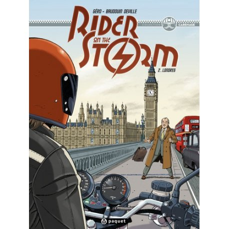 BD Rider on the storm, Londres - tome 2