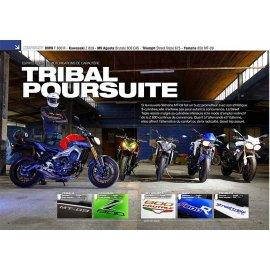 Roadsters (2013) Yamaha 850 MT-09 - BMW F800 - Kawasaki Z 800 - MV Agusta 800 - Triumph 675