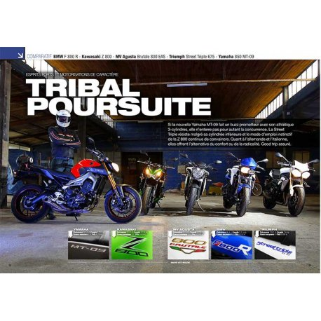 TRIBAL POURSUIT (2013) : COMPARATIF BMW - Kawasaki - MV Agusta - Triumph - Yamaha