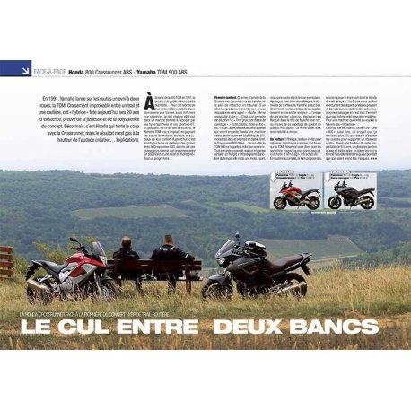 MATCH Honda 800 Crossrunner ABS - Yamaha TDM 900 ABS (2013)