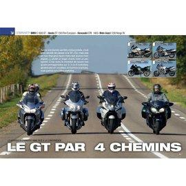 Essai GT (2011) BMW K 1600 GT - Honda ST 1300 Pan European - Kawasaki GTR 1400- Guzzi 1200 Norge 8V