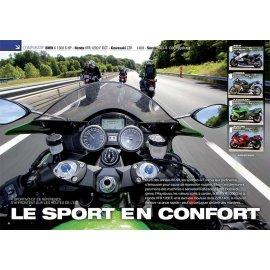 Essai Sport-GT BMW K1300 S - Honda VFR 1200F - Kawa ZZR1400 - Suz GSX-R 1300 Hayabusa (2012)