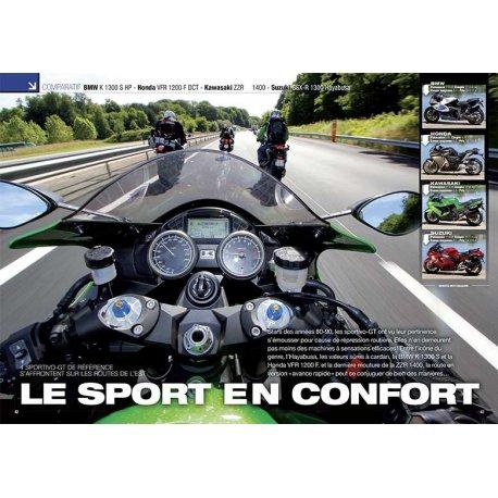 4 SPORTIVO-GT DE RÉFÉRENCE (2012) : Le sport en confort. Comparatif BMW - Honda - Kawasaki - Suzuki