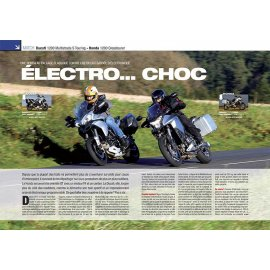 Essai Ducati 1200 Multistrada S Touring - Honda 1200 Crosstourer (2013)