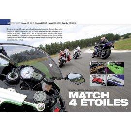 Essai sport (2011) : LA NOUVELLE GSX-R 600 FACE À SES RIVALES. COMPARATIF Honda - Kawasaki - Suzuki - Yamaha