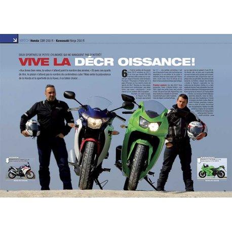 VIVE LA DÉCROISSANCE ! (2012) : DEUX SPORTIVES DE PETITE CYLINDRÉE. Match Honda - Kawasaki
