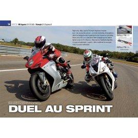 Essai MV Agusta 675 F3 EAS - Triumph 675 Daytona R (2012)