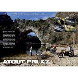 Essai Honda NC 700 X F- BMW F 650 GS - Suzuki V-Strom 650 - Triumph 800 Tiger (2012)