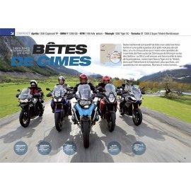 Trails Routiers (2013) Aprilia 1200-BMW R1200 GS-KTM 1190-Triumph 1200 Tiger-Yam XT 1200 Z