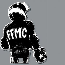 Pin's FFMC Motard Boxeur de Nikolaz