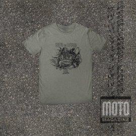 Tee-shirt DUCATI Twin en L 750 GT et SS KAKI Moto Magazine