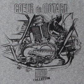 Tee-shirt DUCATI twin en L 750 GT et SS GRIS CHINE
